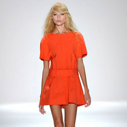 Little Orange Dress
