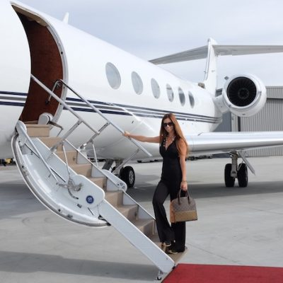 Flying High on a Private Plane